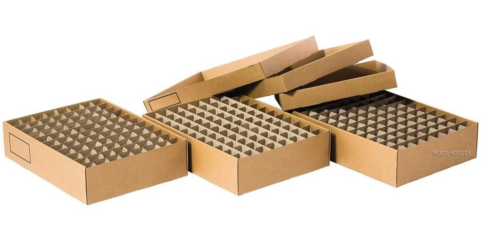 kratownice kartonowe w pudełkach