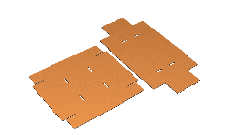 Fefco 330 - składanie kartonu